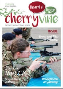 Image of the cover of Cherryvine Spring 2020 issue